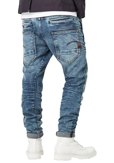 G STAR D Staq 3D Slim Elto Superstretch Denim Jeans for Men Blue