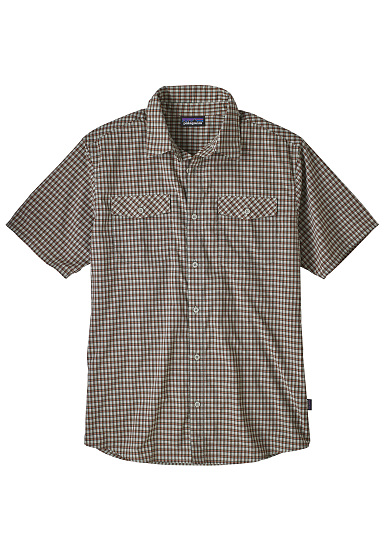 PATAGONIA High Moss - Camisa para Hombres - Beige