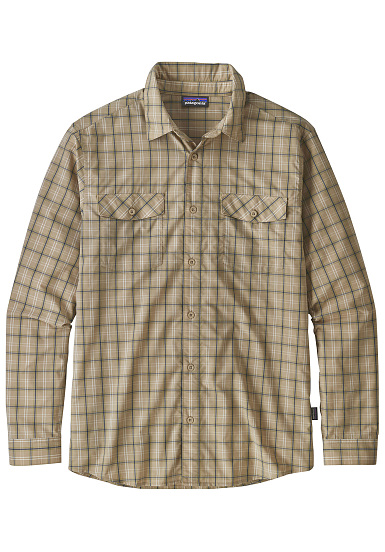 PATAGONIA High Moss L/S - Camisa para Hombres - Beige