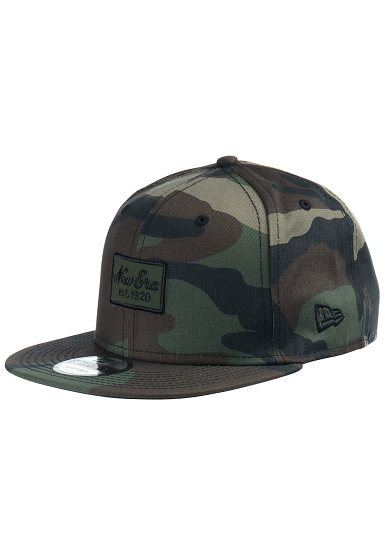 NEW Era 9Fifty Script Patch - Snapback Cap - Camo - Planet Sports 4e3034b6848