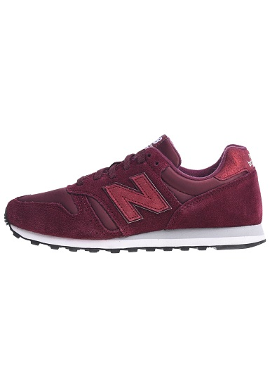 design intemporel 09c32 8d748 NEW BALANCE WL373 B - Baskets pour Femme - Rouge