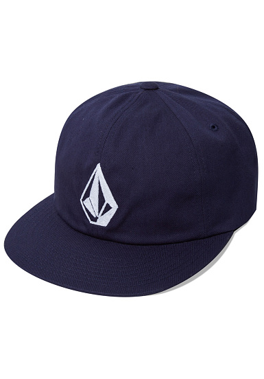 Volcom Stone Battery - Snapback Cap for Men - Blue - Planet Sports 9391ac2b55f