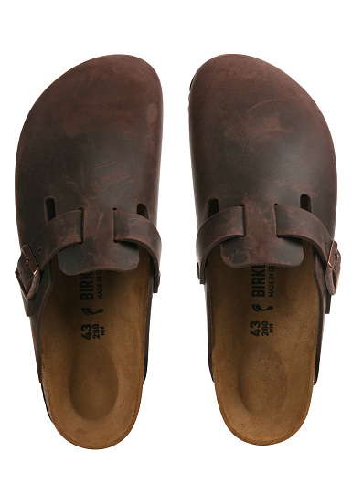 buy popular 87251 aee46 Birkenstock Boston FL - Sandali - Marrone