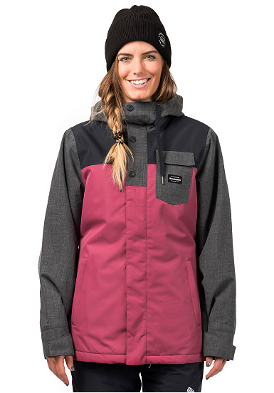 Rosa Snowboard Giacca Horsefeathers Donna Loma Per EAqXvwzq