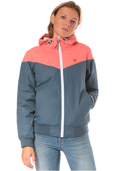 Iriedaily Sporty Spice Functional Jacket for Women Blue