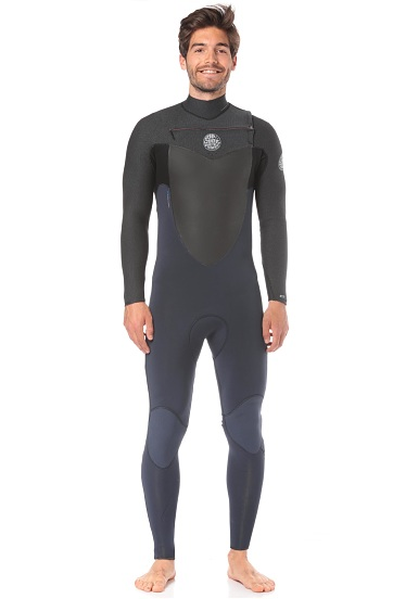 3e832aa7cdf6 Rip Curl Flashbomb 3/2mm Chest Zip - Wetsuit for Men - Black ...
