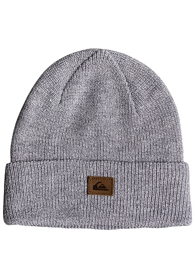 f4f31fb8d6d27 Quiksilver Performed - Beanie for Men - Grey - Planet Sports
