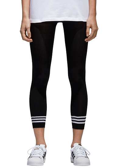 new images of really cheap classic ADIDAS ORIGINALS Tight 3 Stripes - Leggings pour Homme - Noir