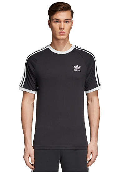 ADIDAS ORIGINALS 3-Stripes - T-shirt voor Heren - Zwart