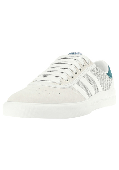 adidas Lucas Premiere Ftwr WhiteMgh Solid Grey | Mens Skate Shoes