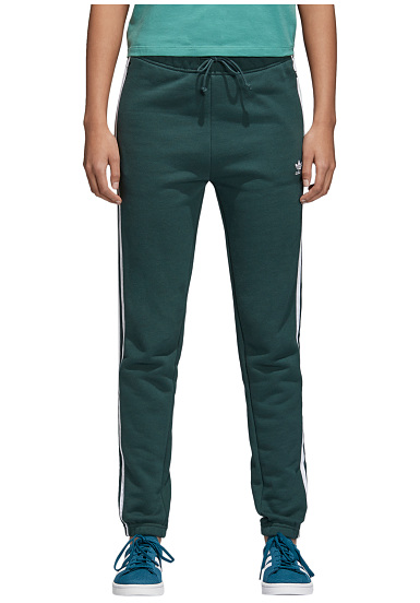 ADIDAS ORIGINALS Regular Cuffed Trackpants for Women Green