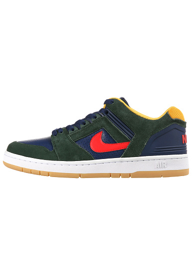 size 40 37f03 f29fc NIKE SB Air Force II Low - Zapatillas para Hombres - Verde