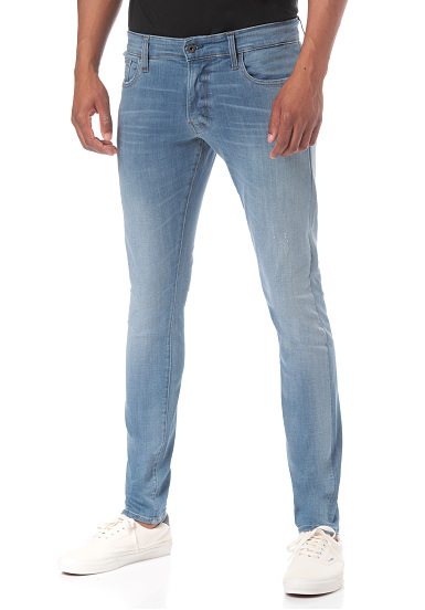 5319e4120f23 G-STAR 3301 Deconstructed Skinny - Denim Jeans for Men - Blue ...