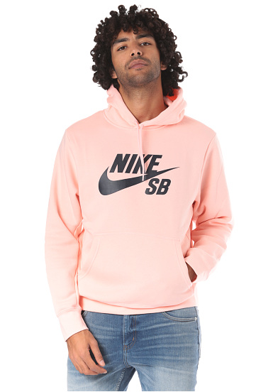 743d51586c5ea NIKE SB Icon Essentials - Sweat à capuche pour Homme - Rose - Planet ...