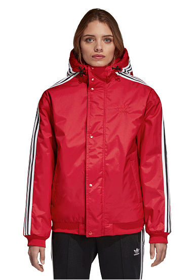ADIDAS ORIGINALS SST Stadion - Veste pour Femme - Rouge - Planet Sports 859751c1d239