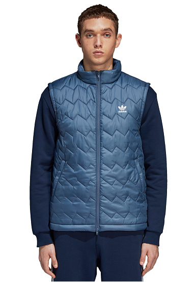 Para Puffy Sports Azul Adidas Hombres Planet Sst Chaleco xf5gqt7
