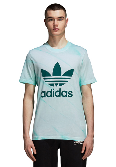 68e73bf4c4a ADIDAS ORIGINALS Tie Dye - T-shirt voor Heren - Groen - Planet Sports