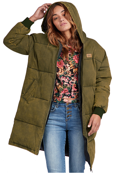 Abrigo Verde Planet Para Under Spell Mujeres Sports Billabong OEBXqY