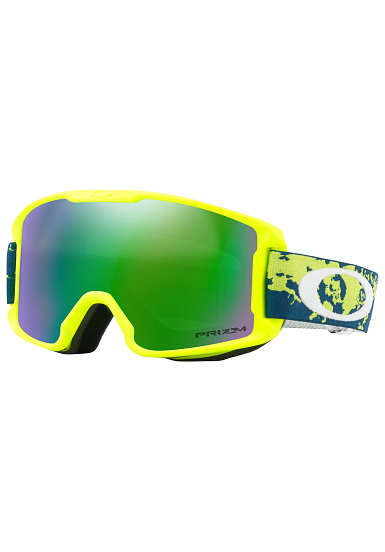 7a30112f271e OAKLEY Line Miner Youth - Snowboard Goggle - Yellow - Planet Sports