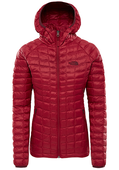 1594caec75 THE NORTH FACE Thermoball Sport - Veste de randonnée pour Femme - Rouge