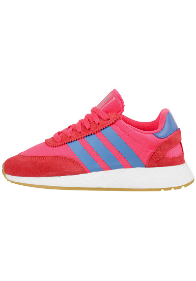 adidas chaussures femme rouge