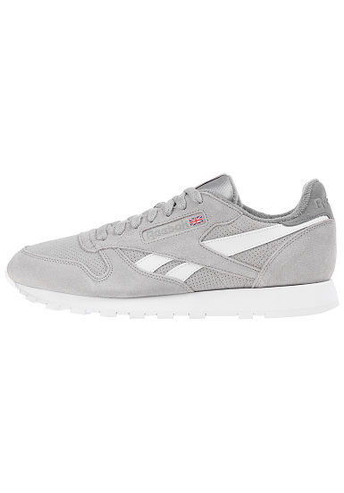 331936816472 Reebok Classic Lthr Mu - Sneakers for Men - Grey - Planet Sports