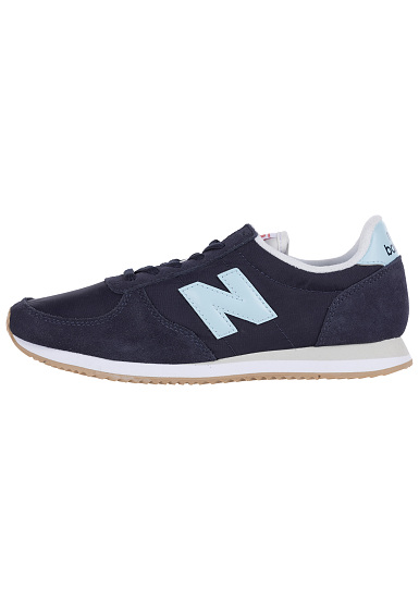 new balance blauwe sneakers dames