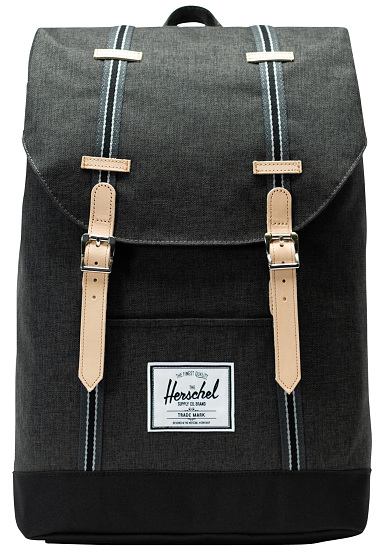 5l Sac À Herschel Retreat Dos Supply Co 19 Noir m0nwvO8N