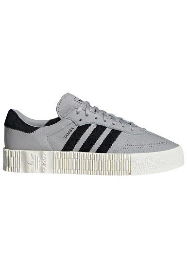 ADIDAS ORIGINALS Sambarose - Baskets pour Femme - Gris - Planet Sports cc8e2cca0cc