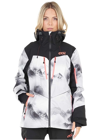 602feac7d62 PICTURE Ticket - Anorak de snowboard para Mujeres - Blanco - Planet ...