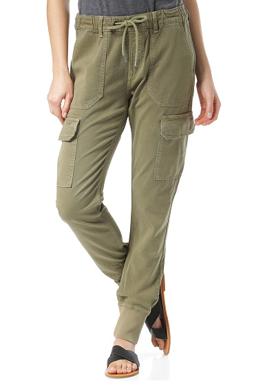 sports shoes 4152f 48efd PEPE JEANS Crusade - Pantaloni chinos per Donna - Verde