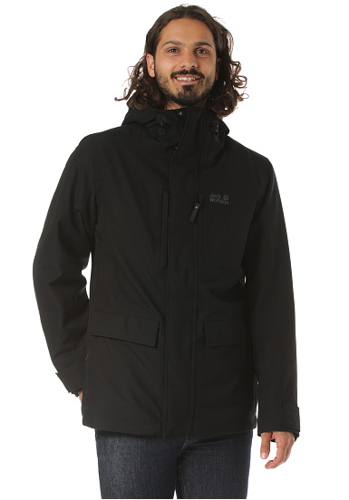Jack Wolfskin West Coast Jacke Herren black