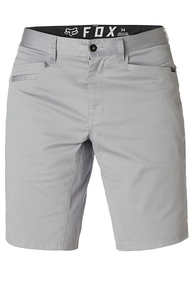 wholesale dealer delicate colors shades of FOX Stretch Chino - Short chino pour Homme - Gris