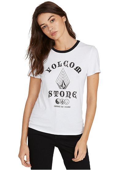 Volcom Stoked On Stone - T-shirt pour Femme