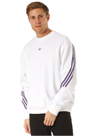sweat adidas homme blanc