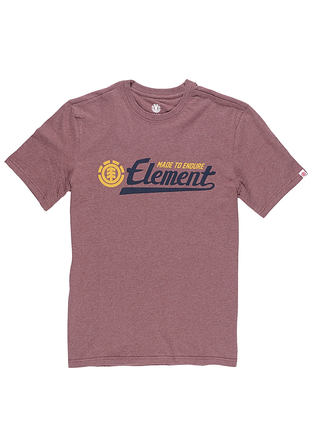 element signature t shirt f r herren rot g nstig. Black Bedroom Furniture Sets. Home Design Ideas