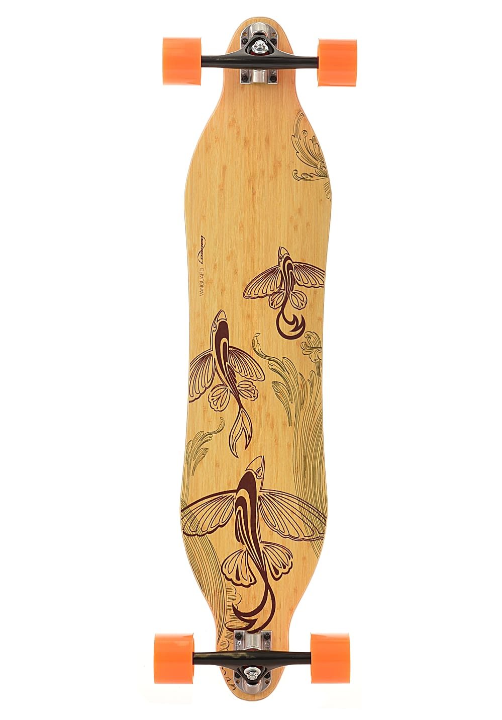 Planet Sports | Loaded Vanguard Premounted Flex 4 Longboard – Mehrfarbig