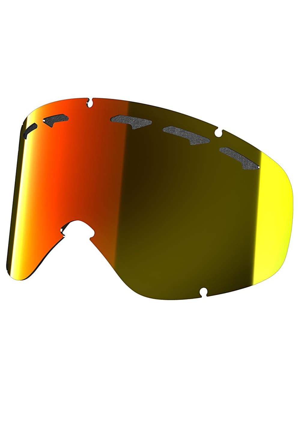 Oakley 02Xs Replacement Lens Snowboardbrille - Rot
