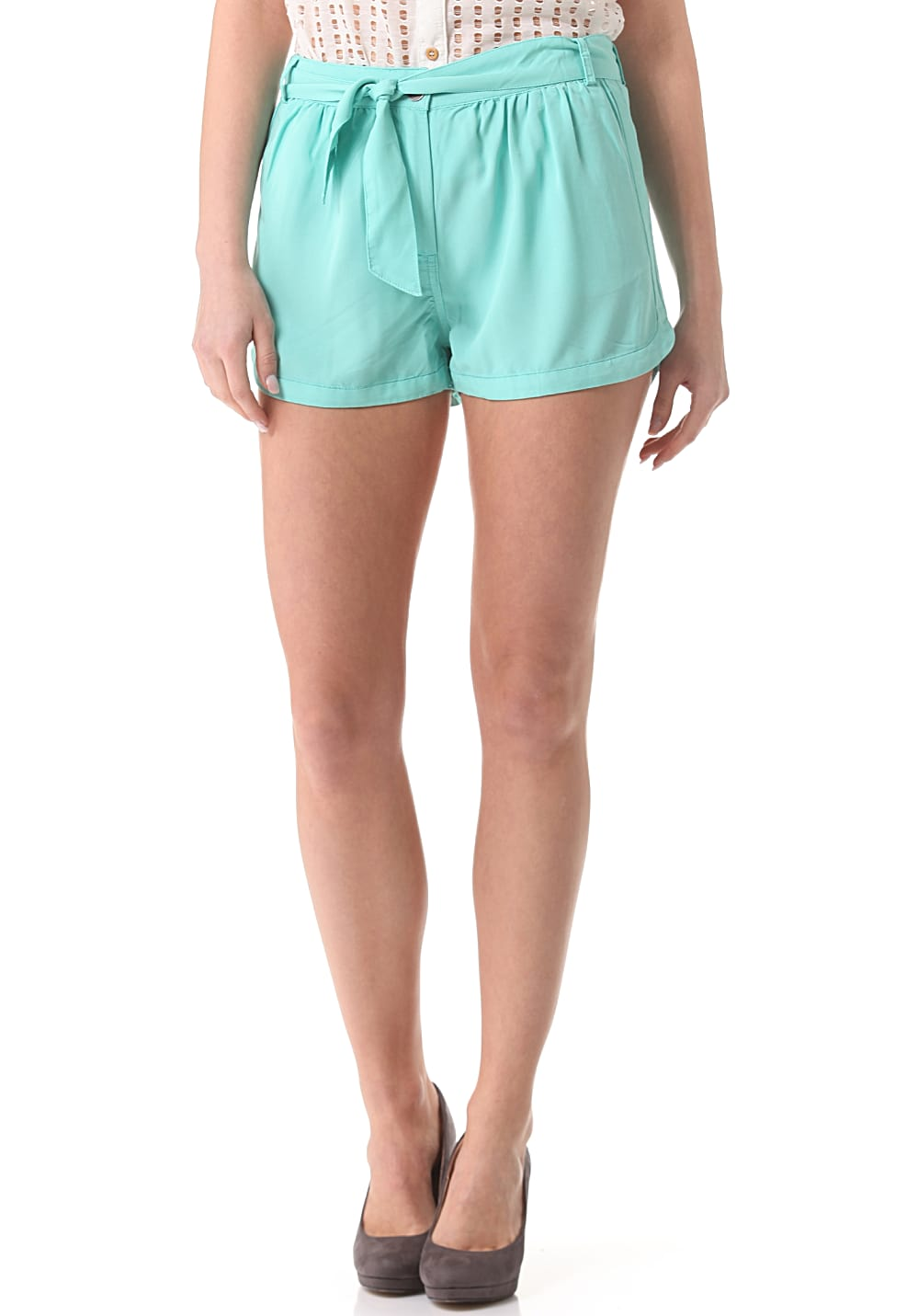 Minimum Playa - Shorts für Damen - Blau - 36/XX