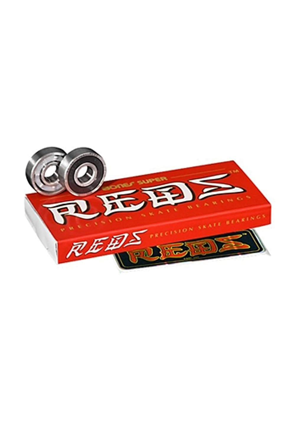 Planet Sports | BONES Super Reds Bearings Kugellager – Silber