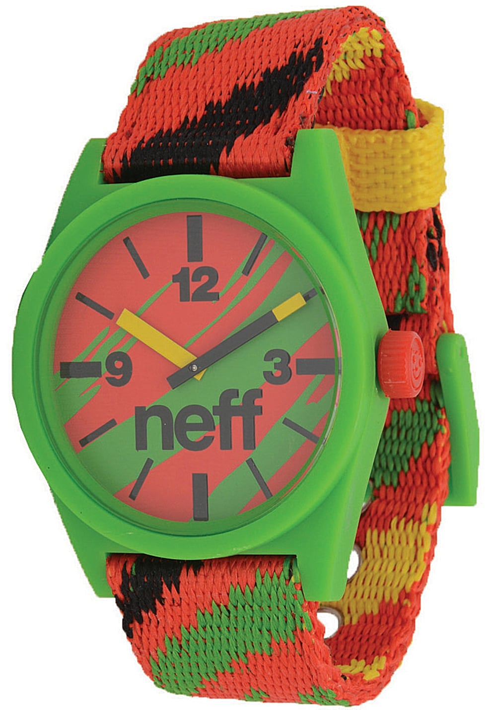 Neff Daily Woven Watch Uhr - Mehrfarbig - OneSize