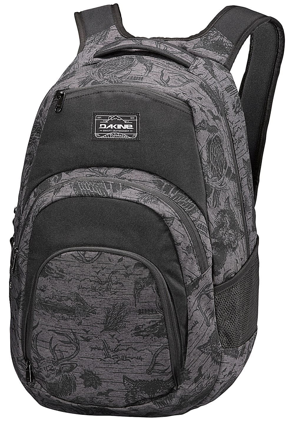 dakine campus 33l rucksack f r herren grau herren taschen geldb rsen. Black Bedroom Furniture Sets. Home Design Ideas