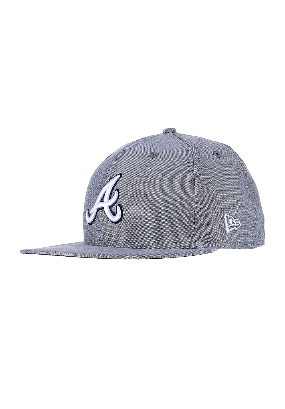 NEW Era Teamox Atlanta Braves Fitted Cap - Grau - 7inch