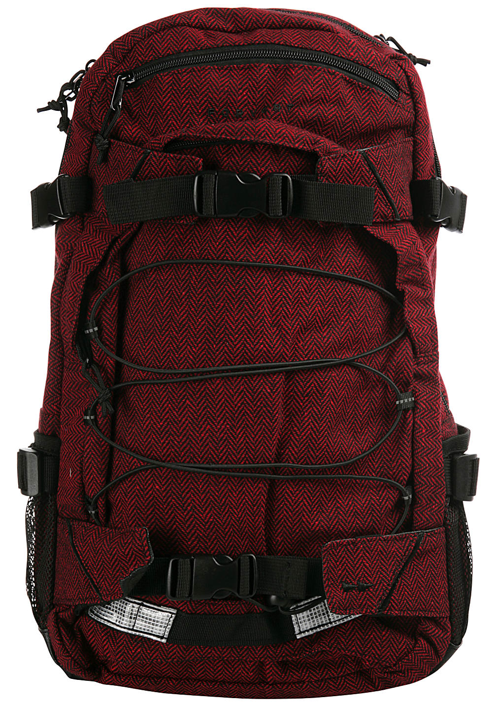 Forvert New Laptop Louis 25L Laptoprucksack - Rot