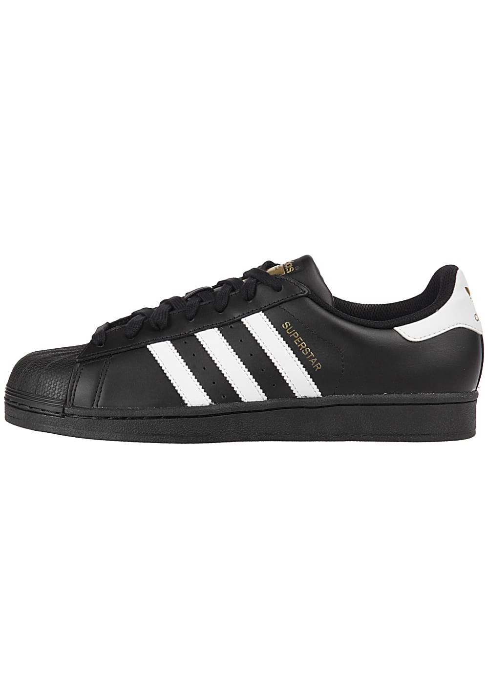 adidas Originals Superstar Foundation Sneaker Schwarz