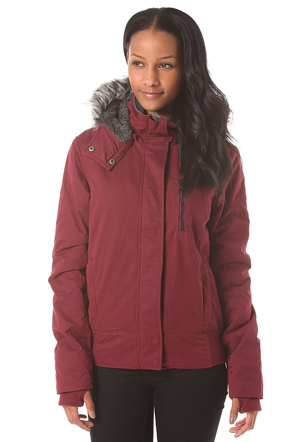 Bench Tommy Tom - Jacke für Damen - Rot - M