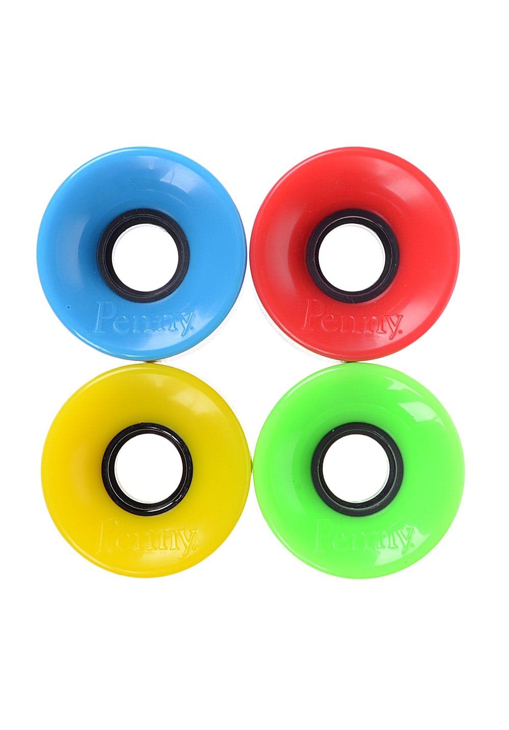 Planet Sports | PENNY Mixed Set 83A 59mm Skate Rollen – Mehrfarbig