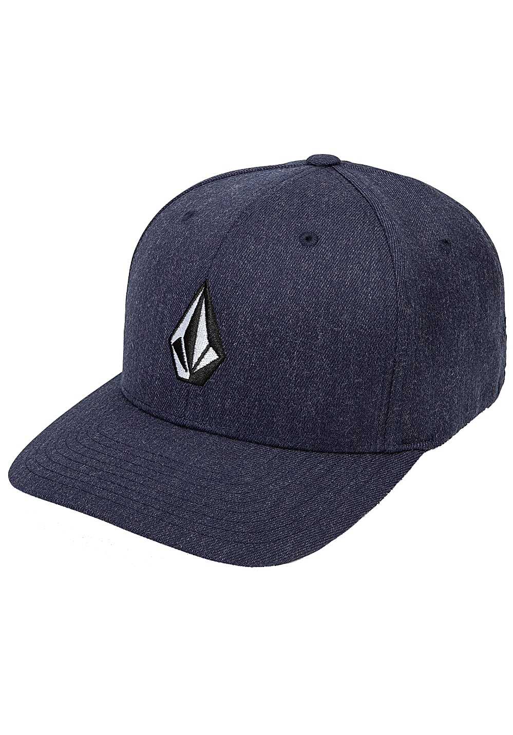 Volcom Full Stone Fitted Cap - Blau
