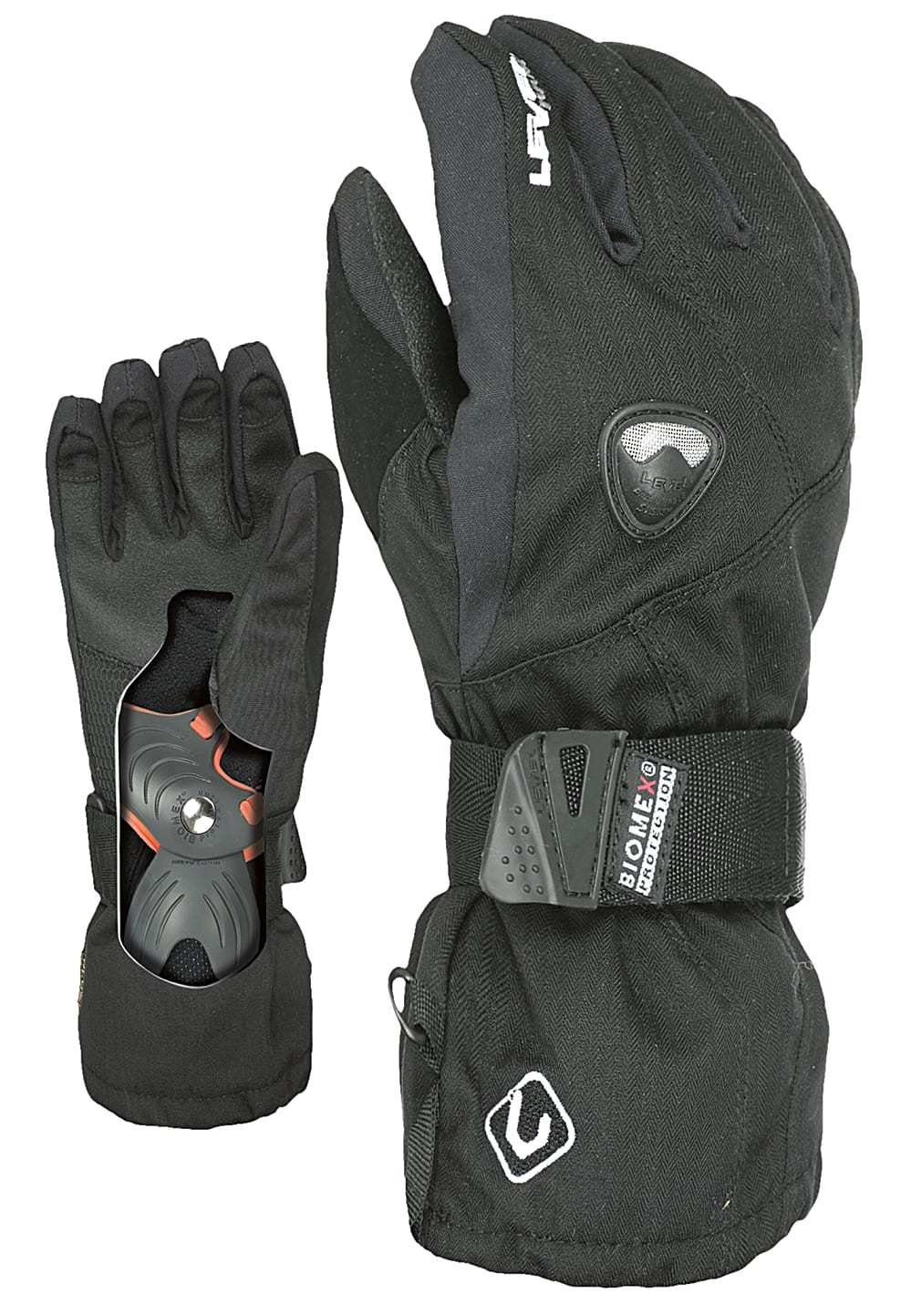 Boysaccessoires - Level Fly Jr Snowboard Handschuhe Schwarz - Onlineshop Planet Sports