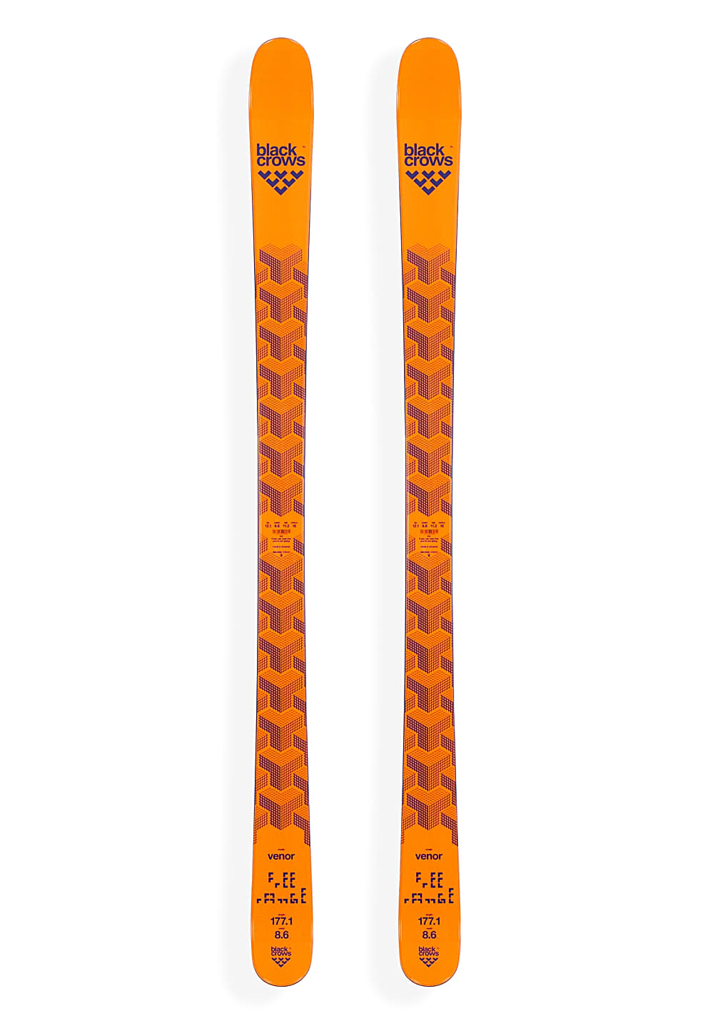 Black Crows Venor 181cm Ski - Orange - OneSize